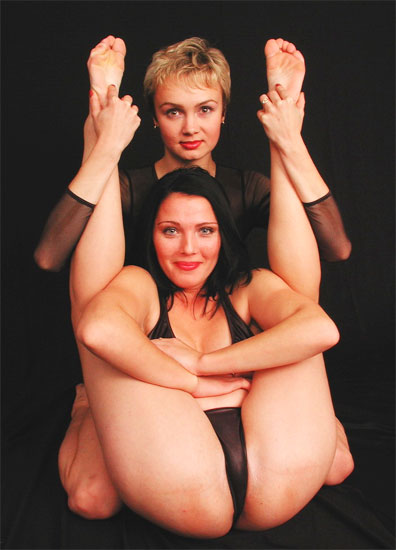 Sexy flexible girls want you for a wild sexy contortion threesome