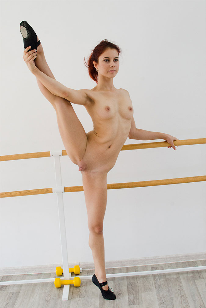Hot flexible naked chicks
