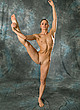nude flexible woman